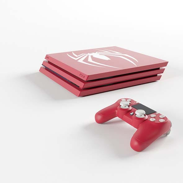 Limited Edition Marvel Spider-Man PS4