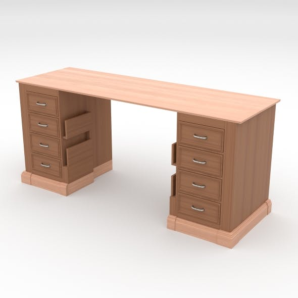 office table - 3DOcean Item for Sale