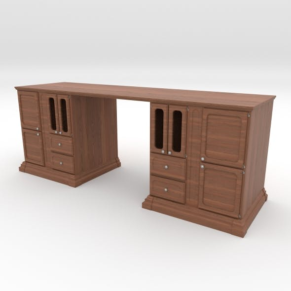 office table 2 - 3DOcean Item for Sale