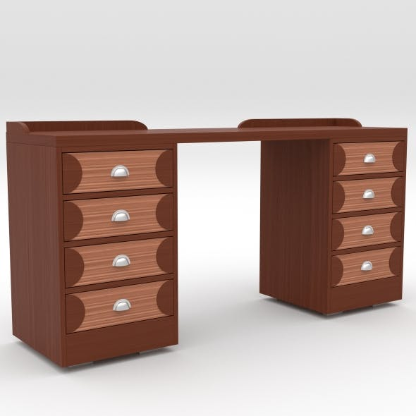 office table 3 - 3DOcean Item for Sale