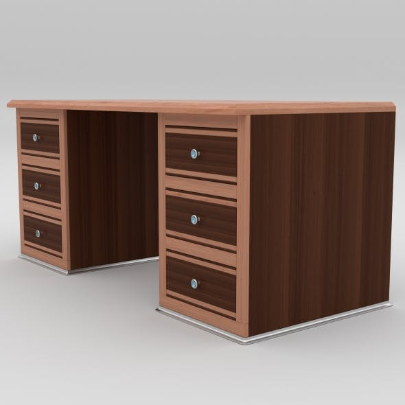 office table 6 - 3DOcean Item for Sale