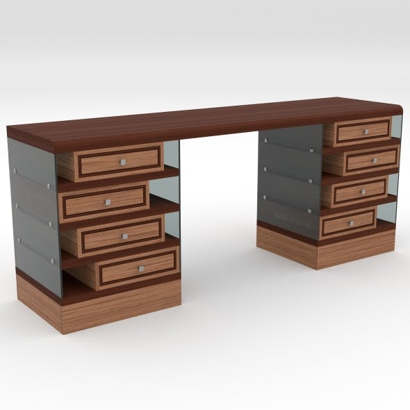 office table 7 - 3DOcean Item for Sale