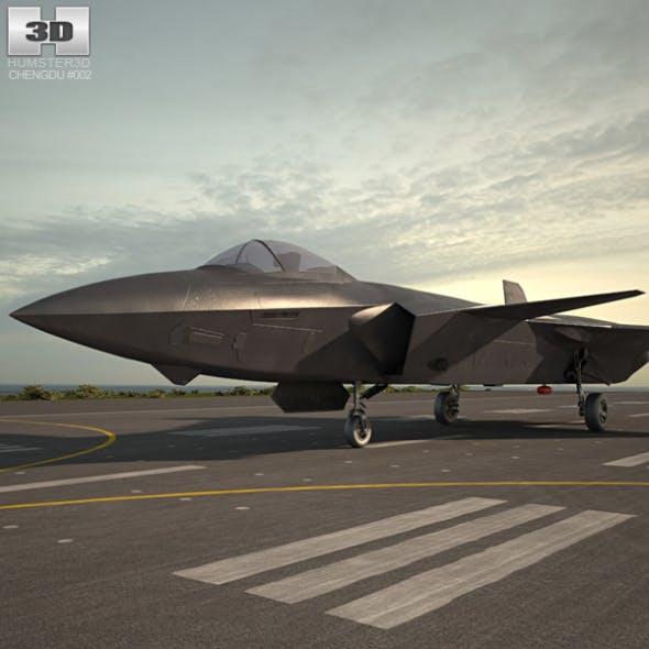 Chengdu J-20 - 3DOcean Item for Sale