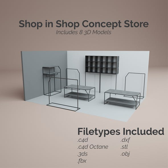 Shop in Shop Store