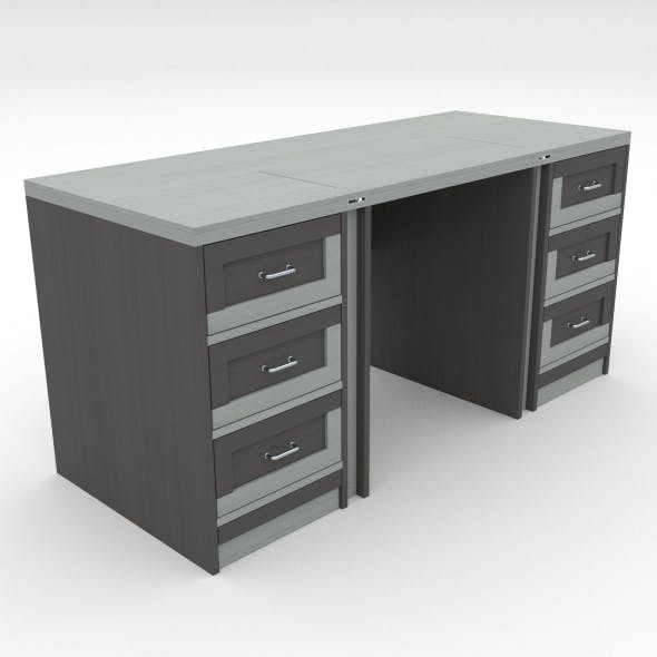 office table 15 - 3DOcean Item for Sale