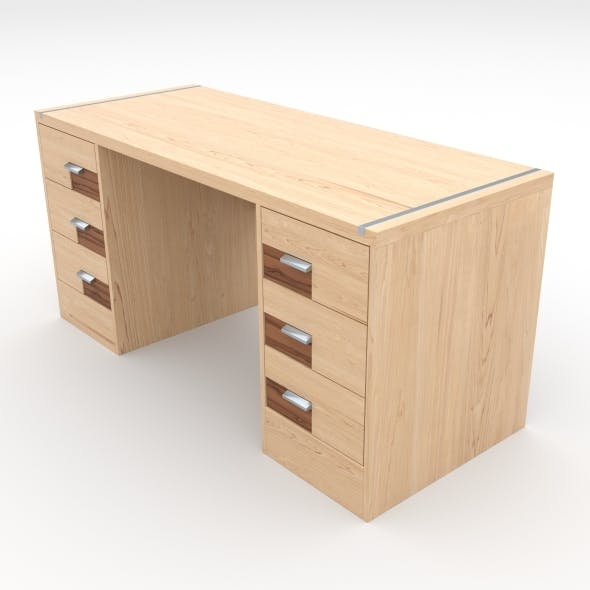 office table 18 - 3DOcean Item for Sale