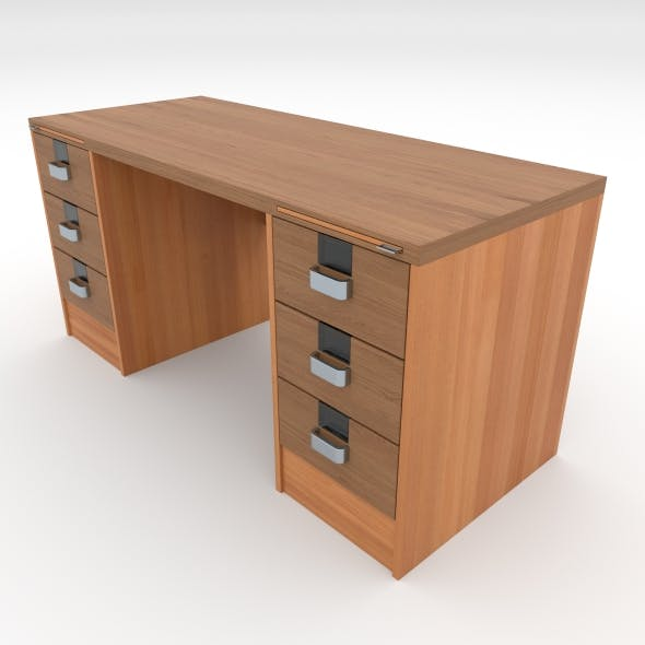 office table 19 - 3DOcean Item for Sale