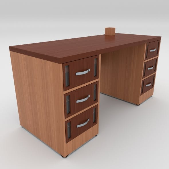 office table 21 - 3DOcean Item for Sale