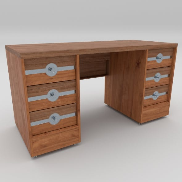 office table 23 - 3DOcean Item for Sale