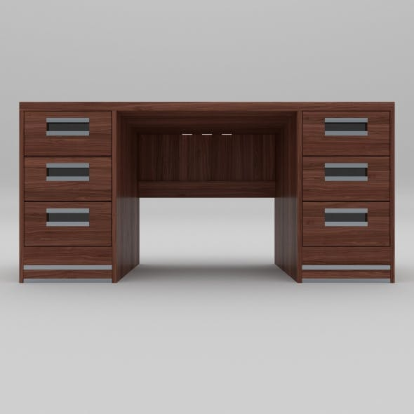 office table 25 - 3DOcean Item for Sale