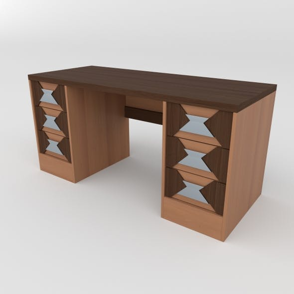 office table 27 - 3DOcean Item for Sale