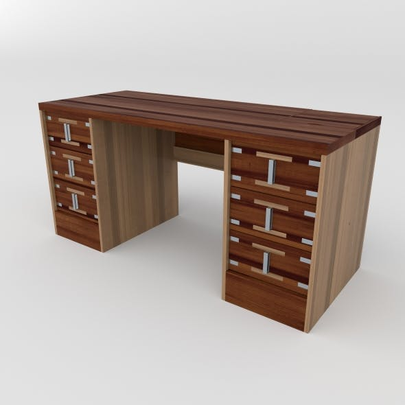 office table 28 - 3DOcean Item for Sale