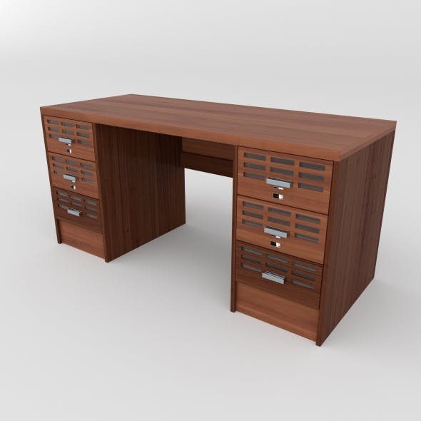 office table 30 - 3DOcean Item for Sale