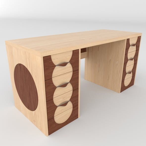 office table 31 - 3DOcean Item for Sale