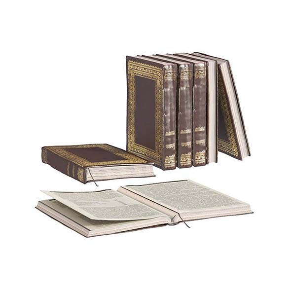 L3DV02G01 - vintage opened book with bookmark - 3DOcean Item for Sale