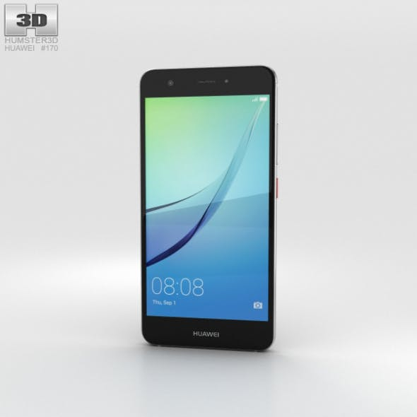 Huawei Nova Titanium Grey - 3DOcean Item for Sale