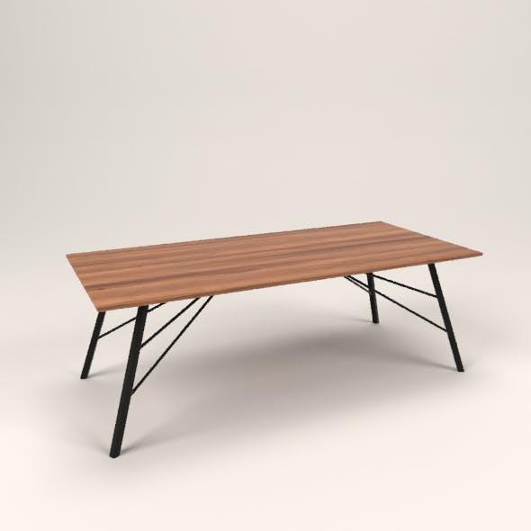 Sasha table - 3DOcean Item for Sale