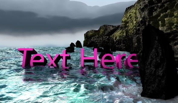 C4D Ocean Template - 3DOcean Item for Sale