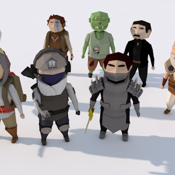 Low Poly Character Pack