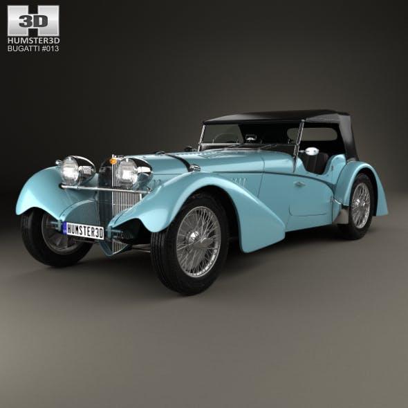 Bugatti 57SC Sports Tourer 1937 - 3DOcean Item for Sale