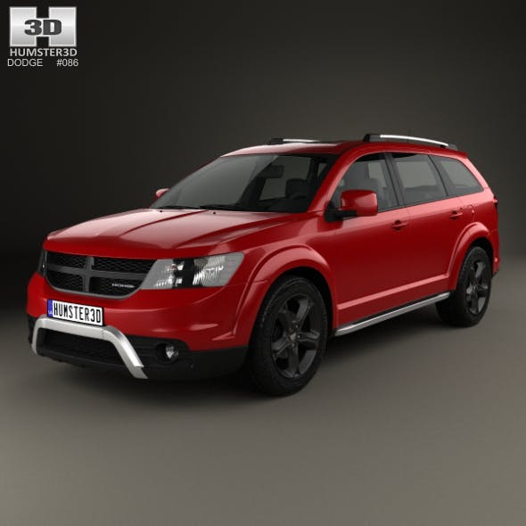Dodge Journey Crossroad 2014 - 3DOcean Item for Sale