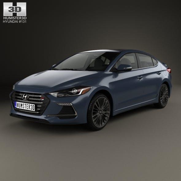 Hyundai Avante Sport 2017 - 3DOcean Item for Sale