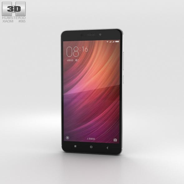 Xiaomi Redmi Note 4 Gray - 3DOcean Item for Sale