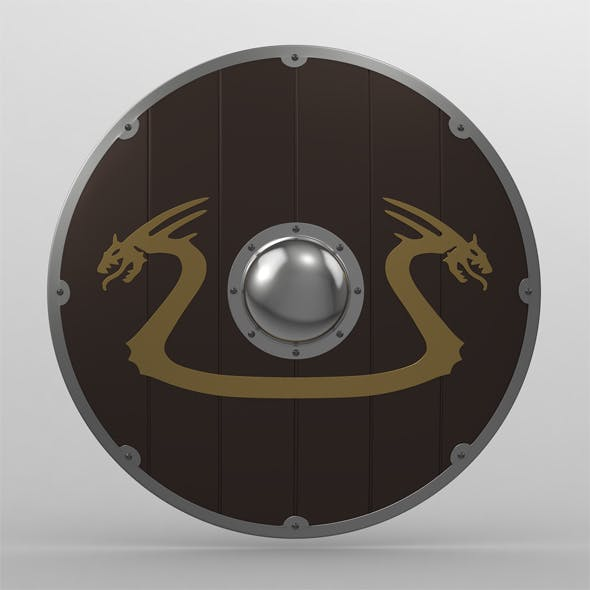 Shield 17 - 3DOcean Item for Sale
