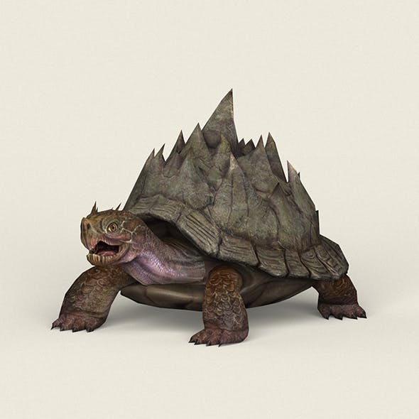 Game Ready Fantasy Turtle - 3DOcean Item for Sale