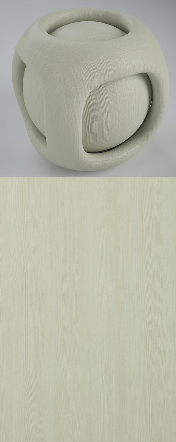 Real Plywood Vray Material White Vir - 3DOcean Item for Sale