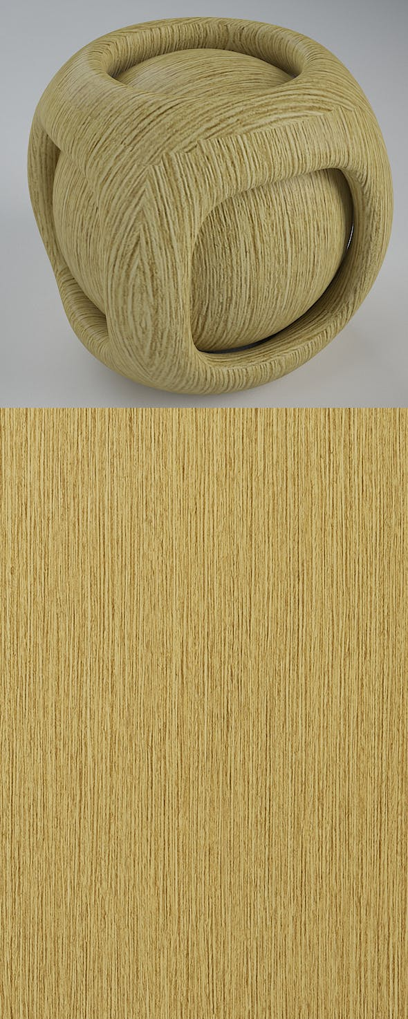 Real Plywood Vray Material Light Picollo - 3DOcean Item for Sale