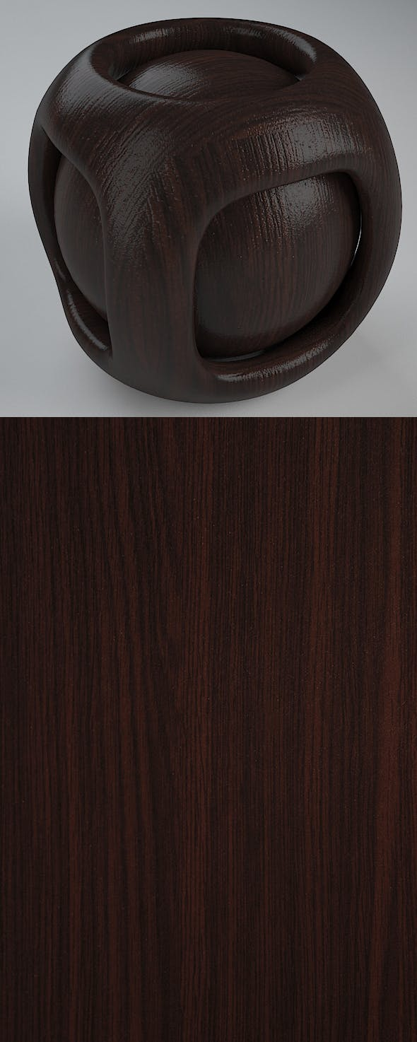 Real Plywood Vray Material Asian Oak - 3DOcean Item for Sale
