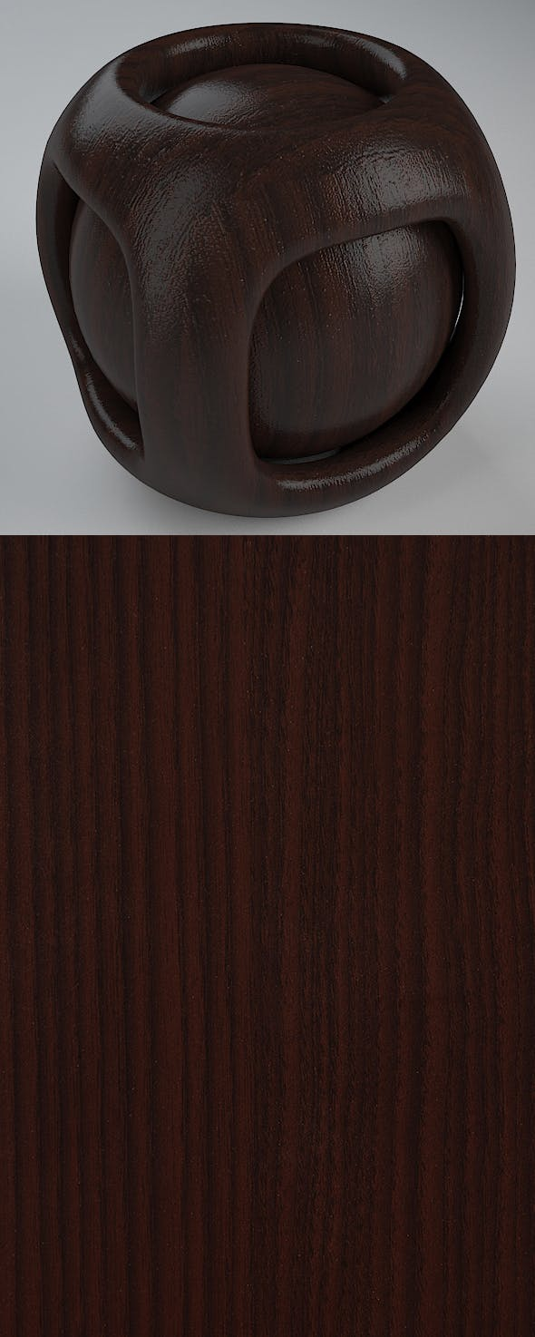 Real Plywood Vray Material New Grain Walnut - 3DOcean Item for Sale