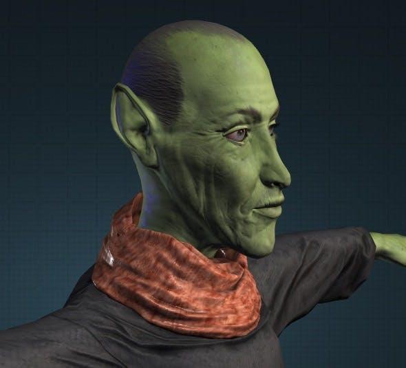 3D Old Troll model obj - 3DOcean Item for Sale