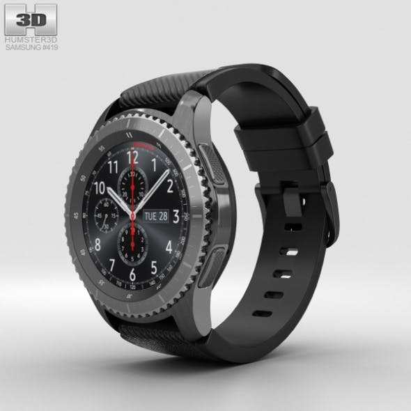Samsung Gear S3 Frontier - 3DOcean Item for Sale