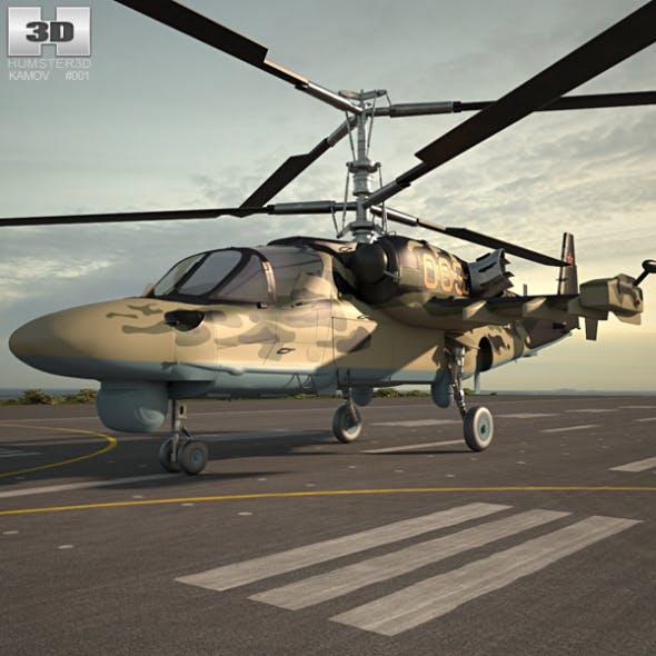 Kamov Ka-52 Alligator - 3DOcean Item for Sale