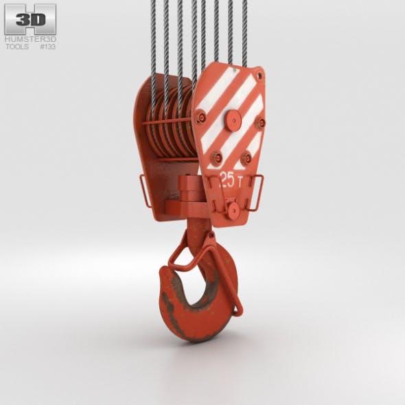 Crane Hook - 3DOcean Item for Sale