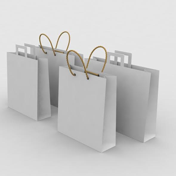 Paper Shopping Bags V2