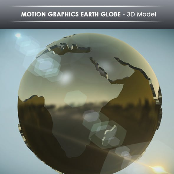 motion graphics earth globe