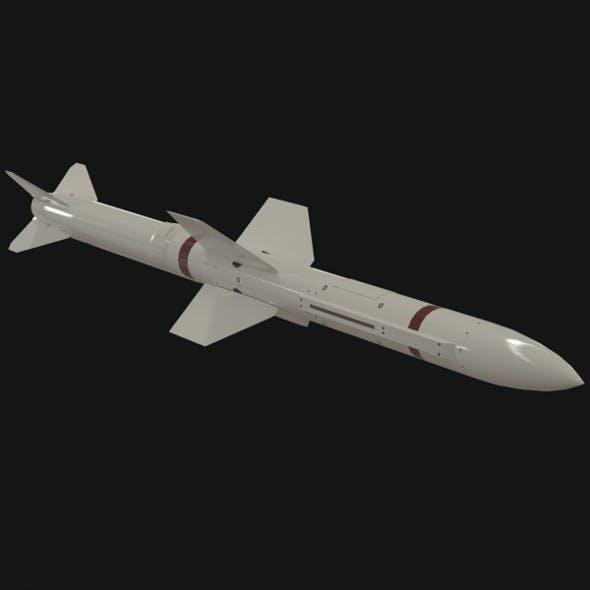 Selenia Aspide missile - 3DOcean Item for Sale