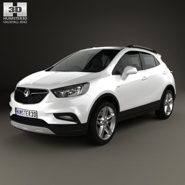 Vauxhall Mokka X 2017 - 3DOcean Item for Sale