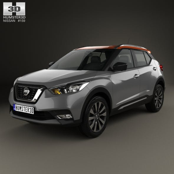 Nissan Kicks 2017 - 3DOcean Item for Sale