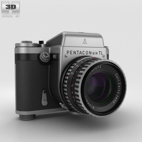 Pentacon Six TL - 3DOcean Item for Sale