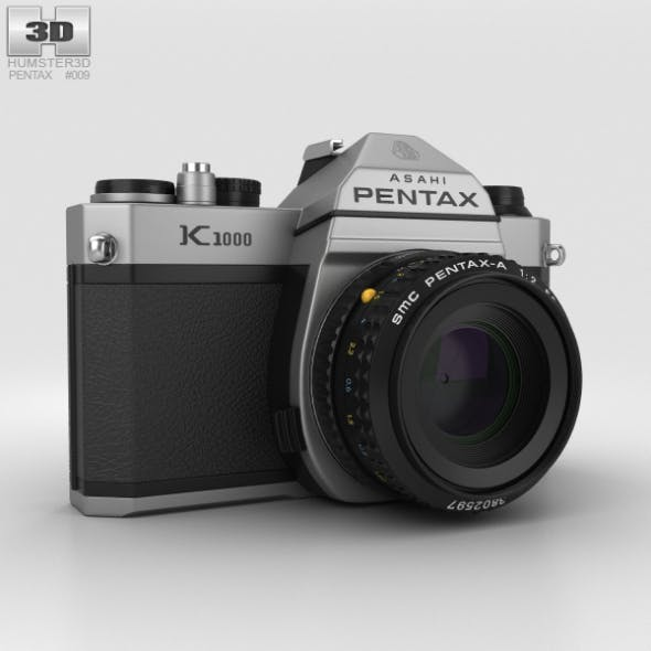 Pentax K1000 - 3DOcean Item for Sale