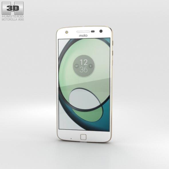 Motorola Moto Z Play White - 3DOcean Item for Sale