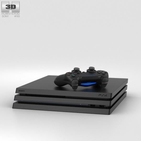 Sony PlayStation 4 Pro - 3DOcean Item for Sale