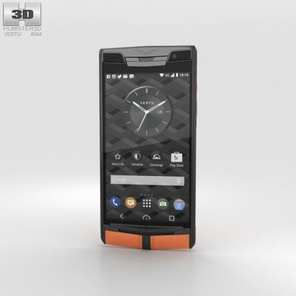 Vertu Signature Touch (2015) Carbon Sport - 3DOcean Item for Sale