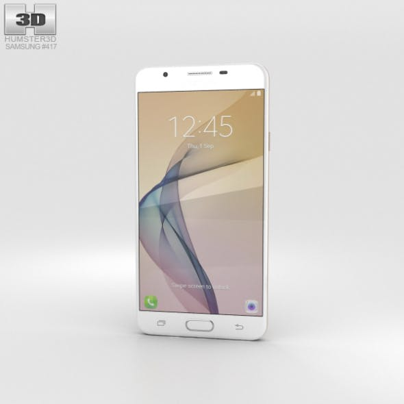 Samsung Galaxy J7 Prime Gold - 3DOcean Item for Sale