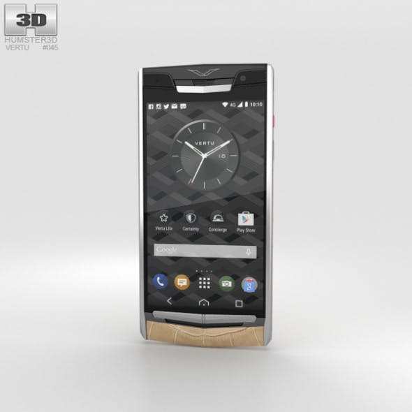 Vertu Signature Touch (2015) Almond Alligator