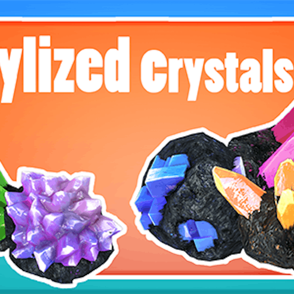 Stylized Crystals
